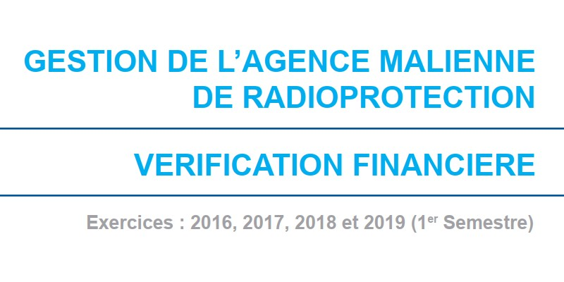 agence malienne radioprotection